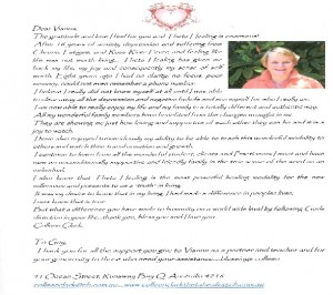 """A Testimonial How Theta Healing presented: """"Truth""""  in Living"""