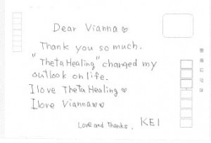 ThetaHealing Letter Changed Outlook on Life